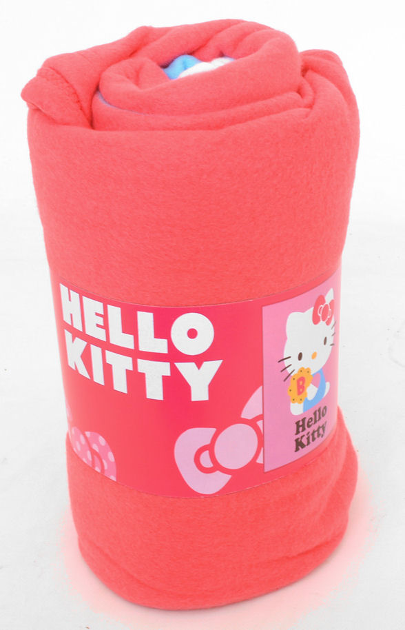 Textiles Hello Kitty Design Large Polar Fleece Blanket