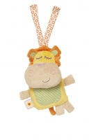Spook Brand 18cm Travel Rattle & Chime Toy ( Moomba Lion )