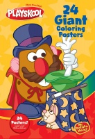 Playskool Mr & Mrs Potato Head - 24 Giant Colouring Posters