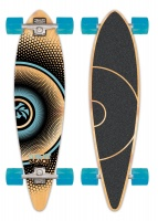 Urban Beach 104cm Pin Tail Longboard Skateboard.  (Turquoise)