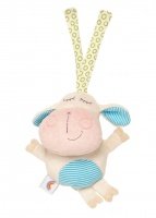 Spook Brand 18cm Travel Rattle & Chime Toy ( Herbe Lamb )
