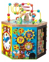 ALEX Jr. Woodland Wonders Wooden Activity Center