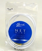 Swish. Net Curtain Wire with fittings. (120cm)