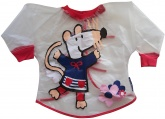 Maisy Mouse - Childrens Clear PVC Painting Smock / Apron