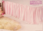My Girls Room Makeovers . Multi Layered Single Bed Valance - Pin