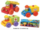 Funtime Push & Go Emergency Rescue Vehicles.  (for ages 12 month