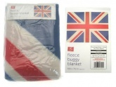 Buggy Blanket - Union Jack (Traditional) (100 x 75cm )