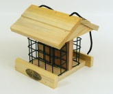 Acre Wood. Hanging Wood Bird Feeder House. (Bird Table)
