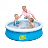 "Bestway My First Fast Set Paddling Pool. 5\' x 15"" Blue"