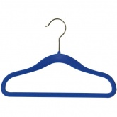 Velvet Touch Children\'s Coat Hangers; 20 Pack - Blue