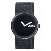 JLS Unisex Watch With Black Dial And Black Strap JLS005GNBKA