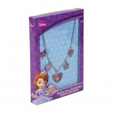 Disney Sofia the First Necklace with Charms