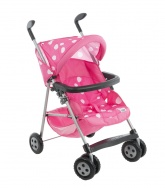 Mamas & Papas Pliko Dolls Pram.  ( Strawberry Snow Fabric )