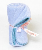 Lollipop Softy Baby Blanket . 100 x 80 cm. Baby Blue