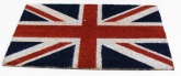 Union Jack Flag Coir Doormat 40 x 70cm - Traditional