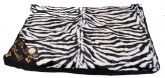 Pooch Products. Faux Fur Pet Bed. 58 x 80 cm - Zebra Print