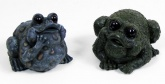 Vivid Arts detailed Resin Ornament; Pair of Bull Frogs