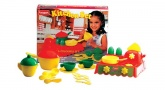 FunSkool Toy Kitchen Set. Cooker, Toaster Pans, Plates.