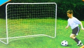 Metal Framed Football Goal. 182 x 122 x 61cm