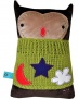"Qatch My Travel Toy ""LUNO The Owl\"" Travel Toy / Pillow"