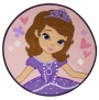 Character World Disney Sofia the First Academy Shaped Rug ( 80 x