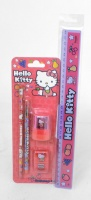 Hello Kitty 5 Piece Stationery Set - Fruity Design