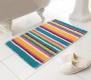 Micro Bobble Bathmat - 50 x 80 cm ( Bright Stripes )