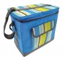 Country Club Jumbo Insulated Cool Bag - Azure Stripe