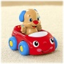 Fisher Price Laugh & Learn Puppy's Learning Car - RED
