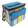 Country Club Large Insulated Cool Bag - Azure Stripe