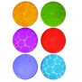Munchkin Bath Grippy Dots . 6 Anti-Slip Pads with Temperature Wa