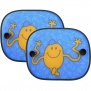 Mr Men . Mr Tickle Folding Car Window Sunshades ( Twin Pack )