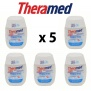 Theramed 2in1 Toothpaste and Mouthwash. 5 x 15ml Travel / Pocket