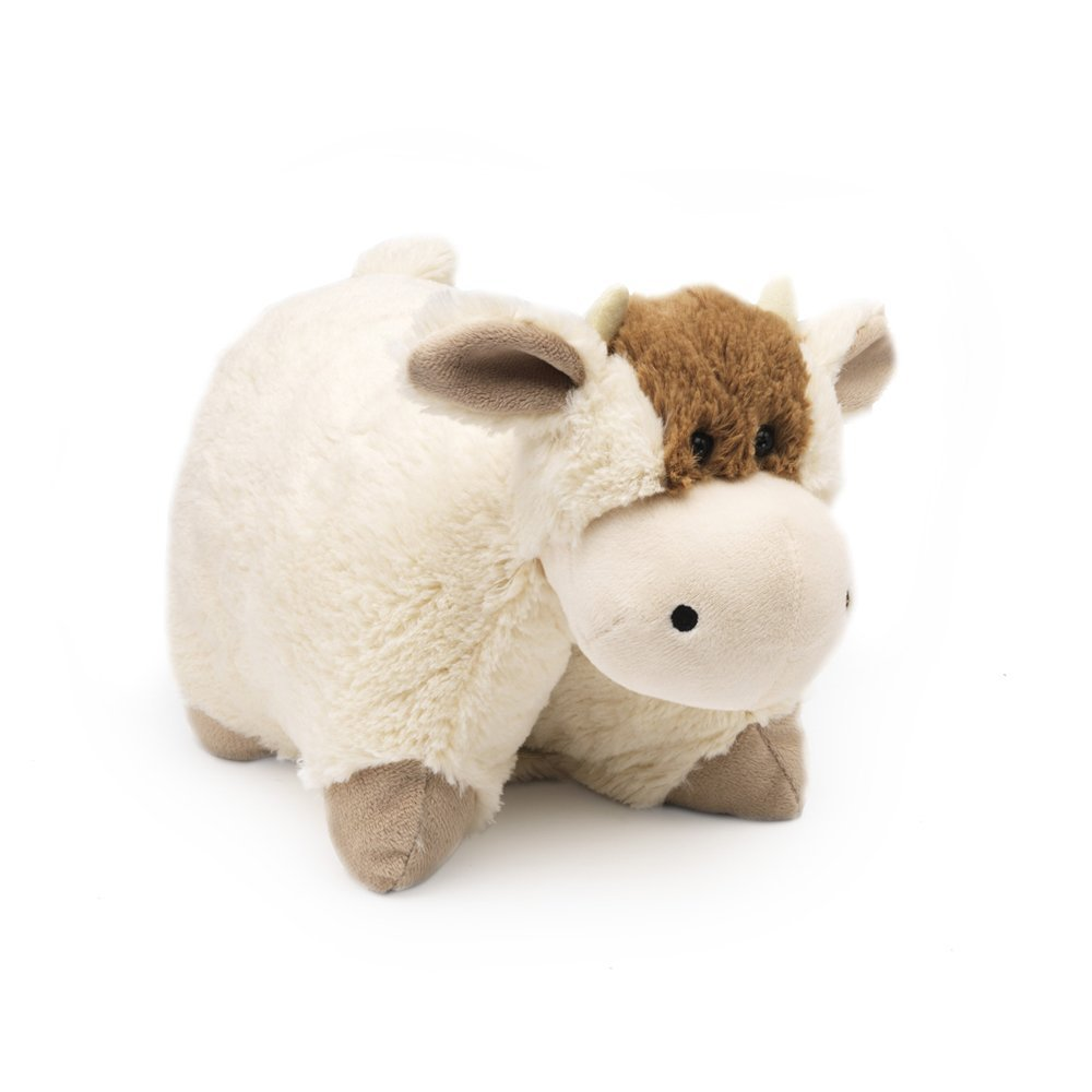 Animal Toy Pillow : Pillow Heads Folding Children s Travel Cushion / Soft Toy Animal - Bee or Cow eBay