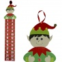 Hanging Fabric Elf Advent Calendar ( 1M Tall )