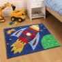 Flair Rugs Children's Bedroom Rug - Rocket 110 x 160 cm